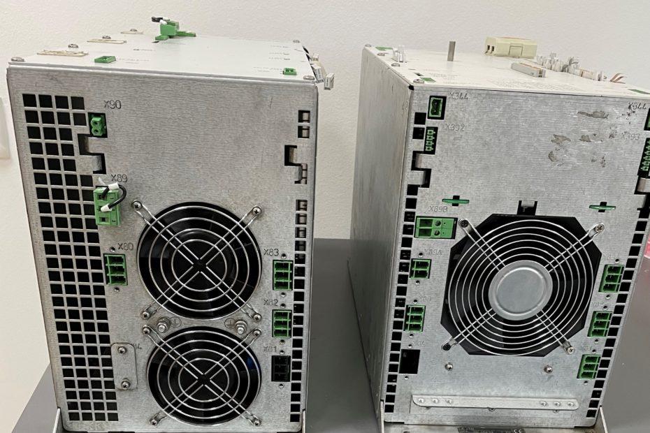 Мощные блоки управления Heidenhain. Идеально подобранные системы для ЧПУ. Акцент делается на технологии инвертора и управления.